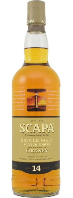 The Dramble's tasting notes for Scapa 14 year old